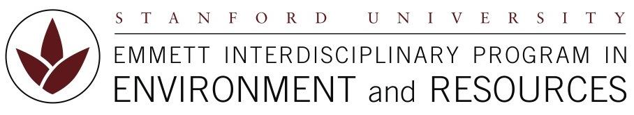 Stanford University Emmett Interdisciplinary Program in