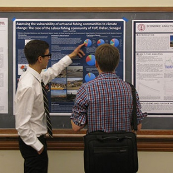 From water supplies to solar energy, undergrads present a year's worth of research