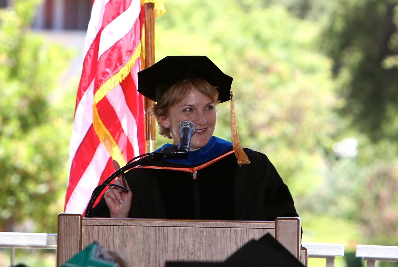 pam matson graduation ceremony 2014