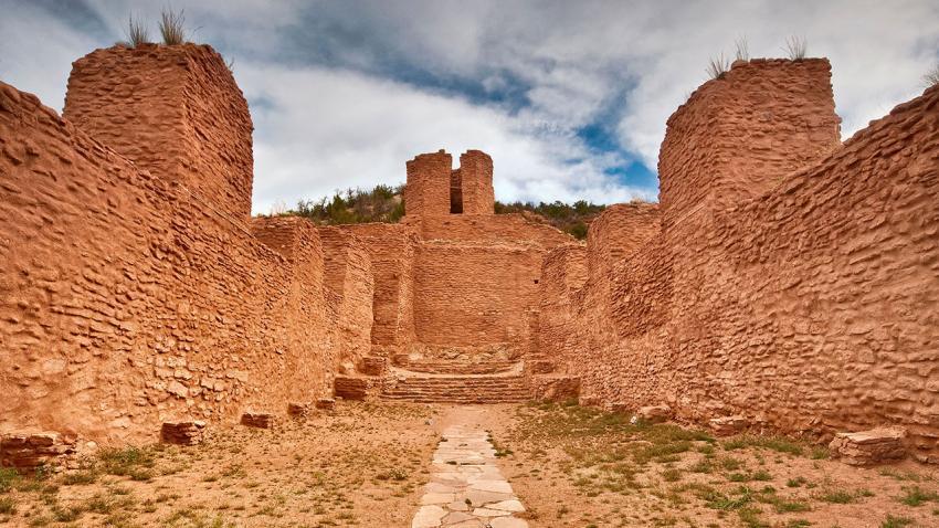 American Indian ruins