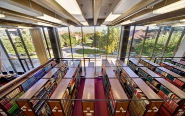 Branner library stacks