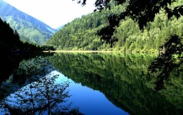 Jiuzhaigou National Park, in Sichuan Province. (Image credit: Zhiyun Ouyang)
