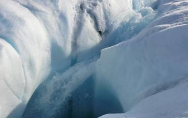 Greenland ice sheet meltwater