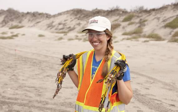 PhD student Meredith Goebel