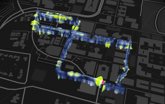 Optical fiber map