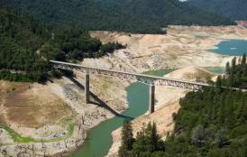 California river affected by drought