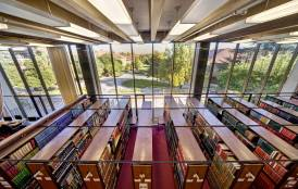 Branner library stacks