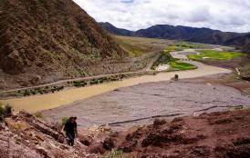 river in Tibet