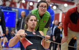 Christine Cavallo rowing