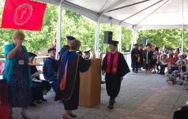 Geological and Environmental Sciences 2011 Commencement