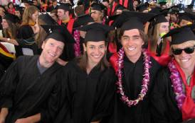 Stanford Earth Commencement 2011 students