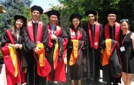ERE graduation students