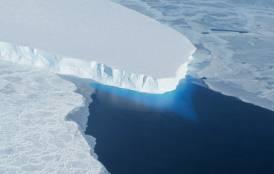 Ice sheet in Antartica