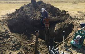 coal bed methane well in Wyoming