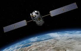 OCO satellite over earth