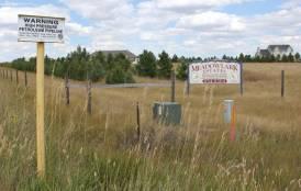 A housing development outside of Cheyenne, Wyoming.