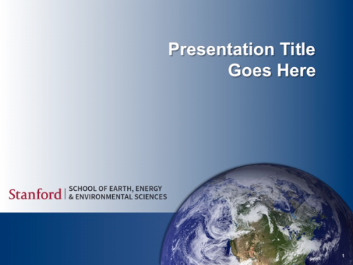 powerpoint templates | stanford school of earth, energy, Modern powerpoint