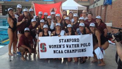 Stanford's women's water polo team